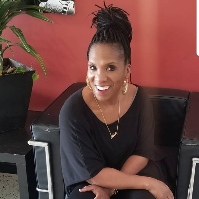 Interior designer Melody Vaughn created the Art, Wine, Design fundraiser to help survivors of descendants of the Rosewood massacre to renovate, repair and refresh their homes.