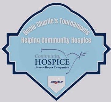 Softball hospice logo