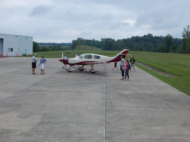 French Lick Municipal Airport hosted an Aviation Day on July 17. People could look over planes and enjoy a meal and snacks from food vendors.