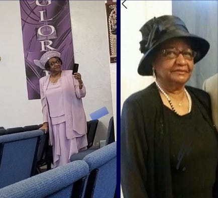 Victorville sheriff's officials are asking for the public's help in locating Dorris Denson, 74, who disappeared after she attended church on Sunday, July 18, 2021, in downtown Victorville.