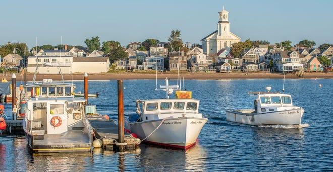A serene Provincetown Harbor.