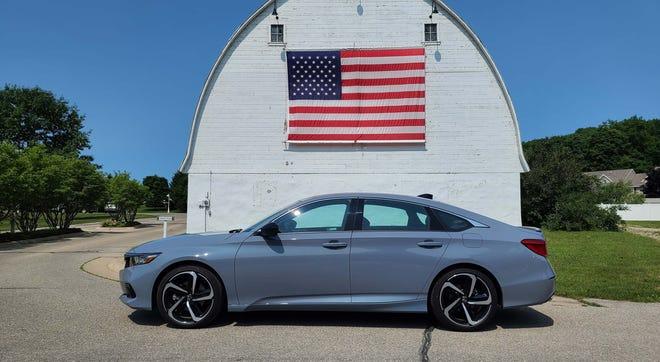 The 2021 Honda Accord is made in Marysville, Ohio.