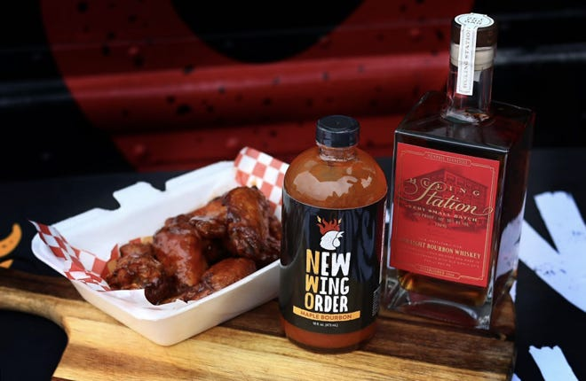 New Wing Order partnered with Old Dominick Distillery for its new Maple Bourbon sauce.