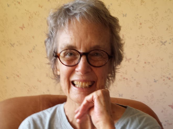 Martha Woodroof, a well-known radio host and author in Harrisonburg, is shown in this photo from The Citizen, an independent news outlet in Harrisonburg. Woodroof died Sunday of cancer at her home Sunday, her daughter posted on Facebook. She was 74.