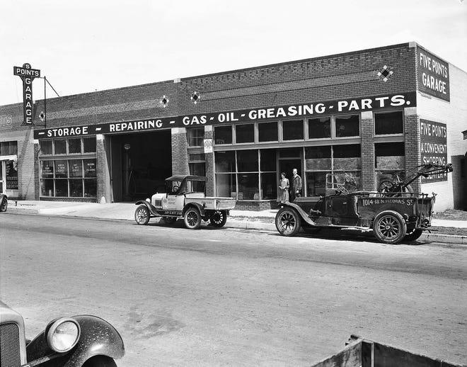 Five Points Garage.