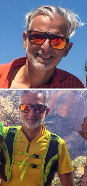 Fred Zalokar, 61, is missing in Yosemite National Park. The hiker failed to return from a day hike to the summit of Mount Clark on Saturday.