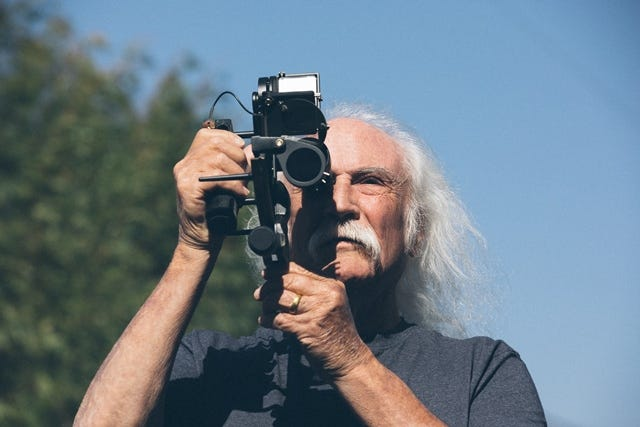David Crosby releases new album on the cusp of 80:  Being old is not something to celebrate