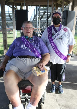 Jim Wells County Relay for Life King Roger Dugie and Queen Ninfa Acuna