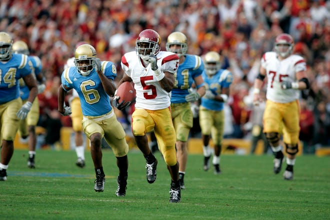 Former USC running back Reggie Bush won the 2005 Heisman Trophy, but returned it in 2010 after an NCAA investigation found he had received improper benefits while still a Trojan.
