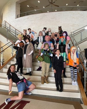 Costumed teens took over the Melissa Public Library during the July 17 Teen Cosplay Convention.