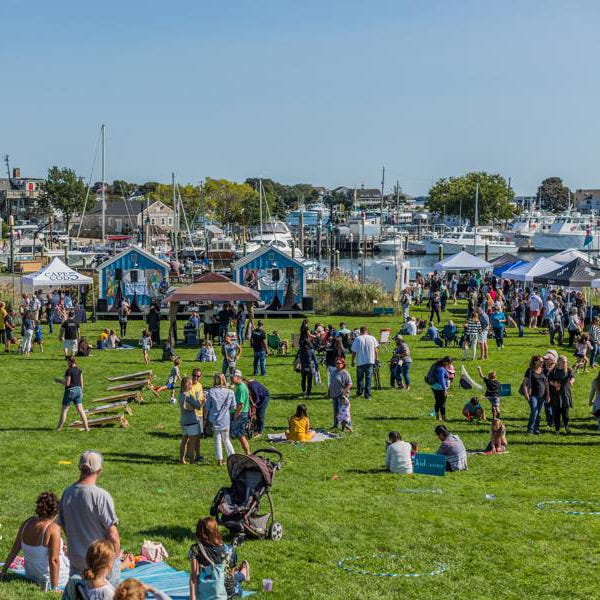 Scenes from the 2019 Love Live Local Fest at Aselton Park on Hyannis Harbor.