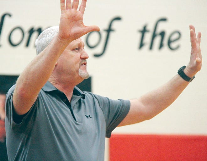 Tug Brinker has guided the Caney Valley High boys basketball team to back-to-back winning seasons.