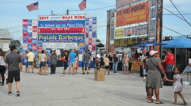The Orrville Lions Club Rib and Music Fest will be held Friday and Saturday, July 30-31; 5-11 p.m. Friday and noon-11 p.m. Saturday.