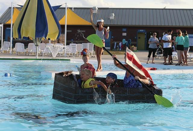 The Adel Family Aquatic Center will host the Cardboard Boat Regatta on Thursday, July 22 with races starting at 6 p.m.