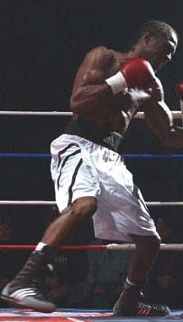 World-class boxer Jerome Pillow