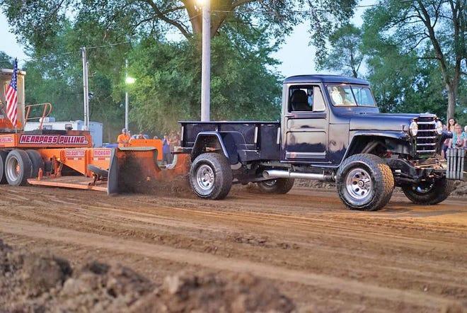 Truck Pulls returned to Bronson's Polish Fest Saturday