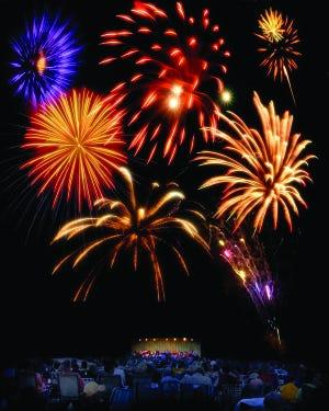 Fireworks photo by Rod Gerst