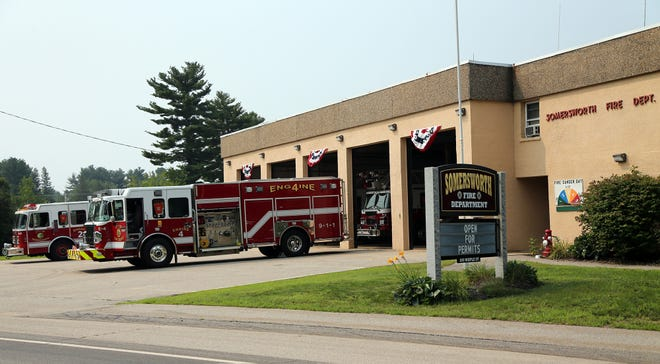The Somersworth Fire Department is located at 195 Maple Street.