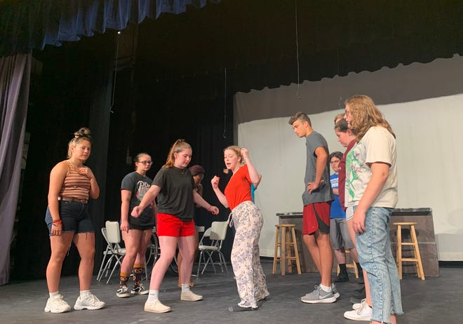 """A summer production of """"All Shook Up"""" featuring the songs of Elvis Presley is scheduled for this weekend.The show will be at 7 p.m. Friday and Saturday in the Monmouth-Roseville High School auditorium."""