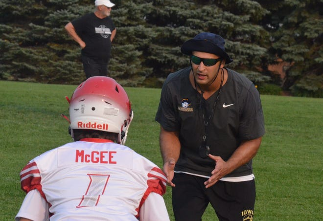 Former All-American Ameer Ismail ran a camp at West Ottawa on Monday, July 19, focused on defensive explosiveness.