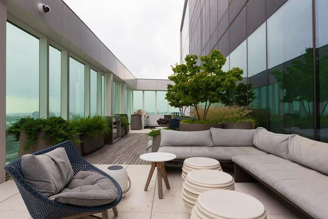 Here's a great space to relax and have some fun at Pierce Boston.