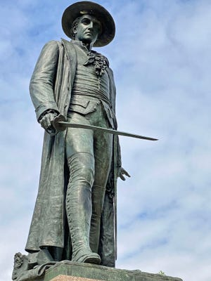 A statue to Dr. Joseph Warren was commissioned in the 1850s to pay particular respects to his sacrifice at the battle. Dr. Warren was an American physician who played a leading role in Patriot organizations in Boston during the early days of the American Revolution, eventually serving as President of the revolutionary Massachusetts Provincial Congress.