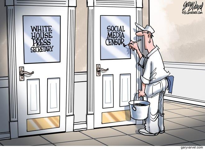 Today's editorial cartoon (July 21, 2021)