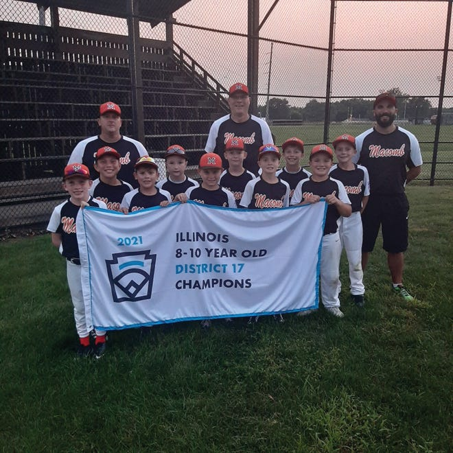 Front Row (L-R): JT Duffy, Aiden Seward, Ryker Allensworth, Owen Griffith and Sawyer Thomas. Second Row (L-R): Gavin Livermore, Owen Leinbach, Ethan Osterman, Easton Karlinski and Eli Griffith. Back Row (L-R): Coaches Wes Seward, Patrick Osterman and Brian Thomas. Not Pictured: Bryden Bainter, Luke Van Vlymen and Dean Wagoner.