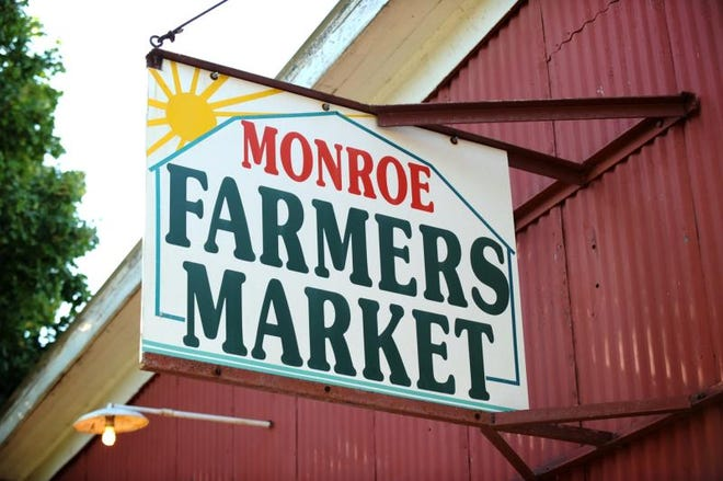 The Monroe Farmers Market at 20 E. Willow St. is celebrating 90 years of business on Saturday.