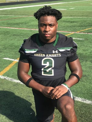 Montvale (N.J.) St. Joseph Regional's Audric Estime, a four-star running back in the 2021 recruiting class, signed with Notre Dame on Dec. 28, 2020.