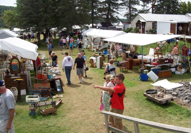 The annual Madison-Bouckville Antique Week returns Aug. 16-22 to shops and show fields along Route 20, offering more than 2,000 dealers selling a vast variety of treasures.