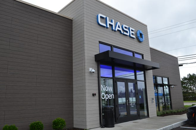 Chase has opened a new bank -- its first in Portsmouth, its fourth in the state -- at 1574 Woodbury Ave., part of the Durgin Square shopping plaza that includes the new Whole Foods.