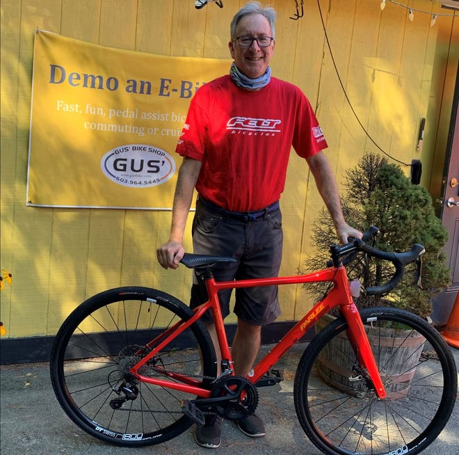 Jeff Latimer, the author of this column, is a Seacoast Area Bicycle Riders volunteer and owner of Gus' Bike Shop in North Hampton