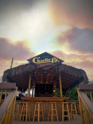Charlie O's Tiki Tavern is now at George's of Galilee restaurant.