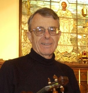 Warren van Bronkhorst, longtime concertmaster with the Stockton Symphony and faculty member at the University of the Pacific.