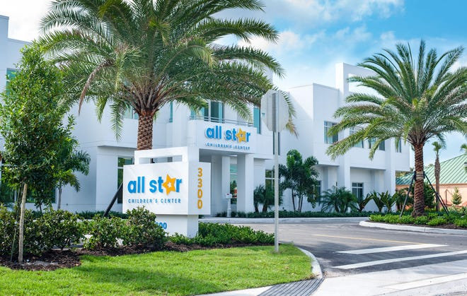 The All Star Children's Foundation, located at 3300 17th St.in Sarasota, includes a clinical treatment center, six family foster homes, and inspirational green spaces featuring a playground, gardens, and a clubhouse.