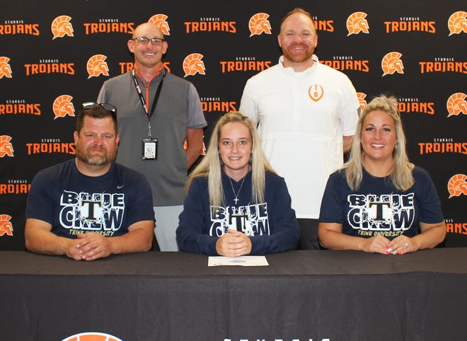 Carli Sanford of Sturgis will continue with academics and golf at Trine University.