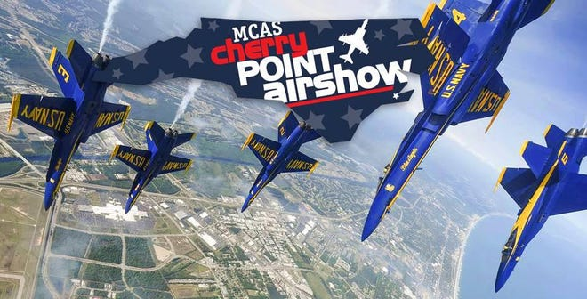 Marine Corps Air Station at Cherry Point will hold its biennial air show on Sept. 25-26.