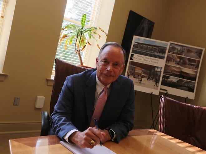 PSU President Steve Scott
