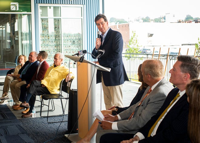 Denis Dowdle of Madison Properties talks about the project.
