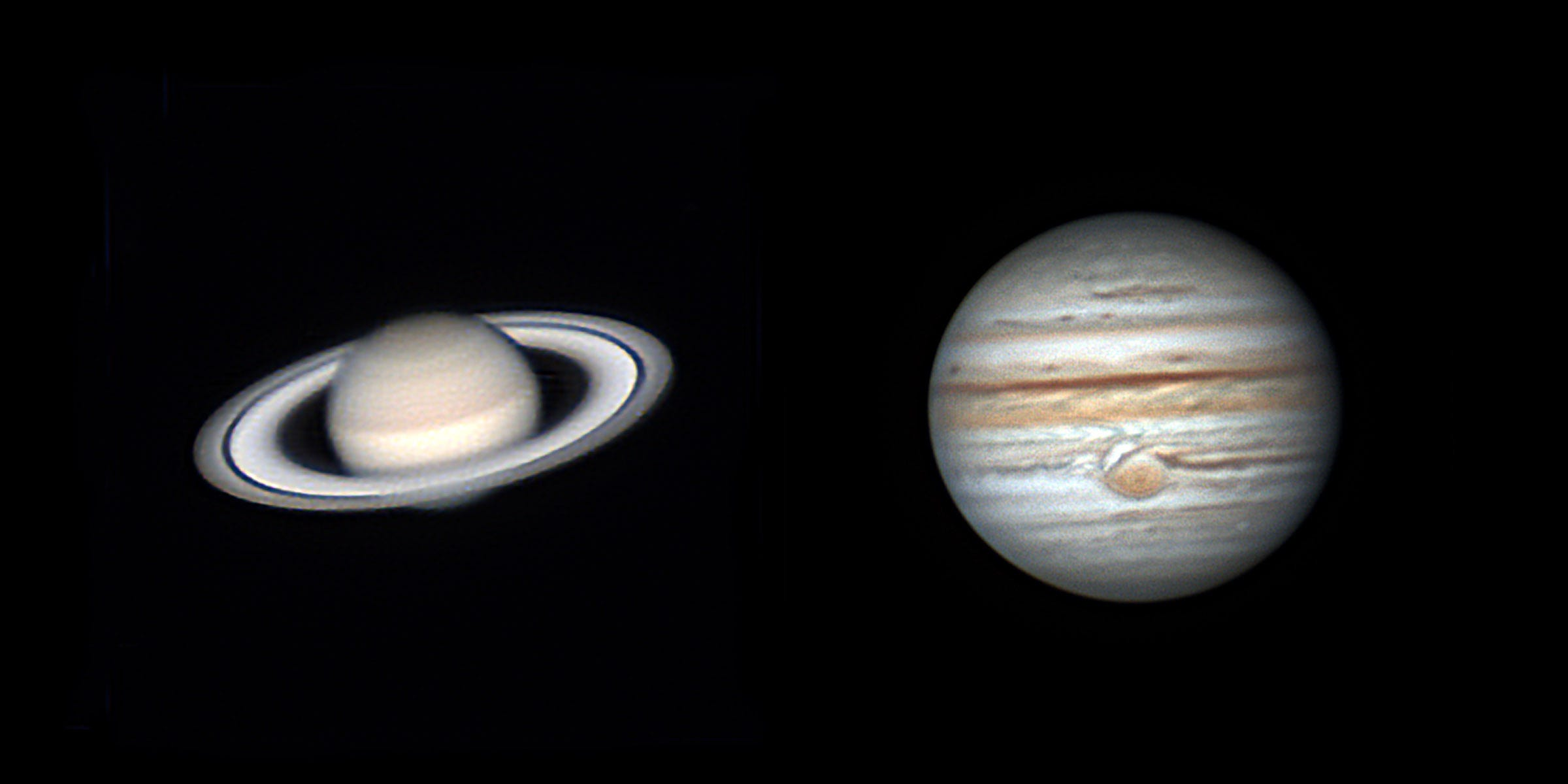 Saturn, Jupiter can be seen from the Fayetteville area in late summer