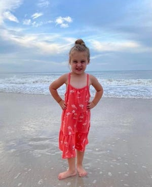 3-year old Harbor Webb, the daughter of Andy and Jordan Webb, is facing a long battle against neuroblastoma cancer. The Steven Stenger Memorial Golf Scramble on July 31 is raising funds to help the family.
