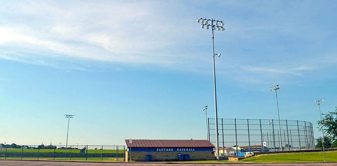 Renovations to the baseball fields at Forrest More Park are expected to significantly improve playing conditions after rainfall.
