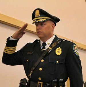Burlington Police Chief Thomas Browne