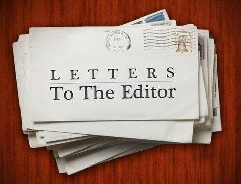A Letter to the Editor for the Hingham Journal.