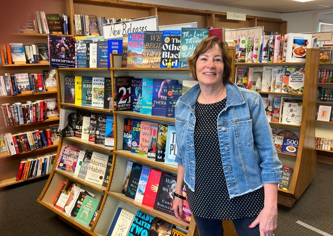 Trisha Peterson is looking for a new owner to take over her bookstore, Paperback Junction, in Easton.