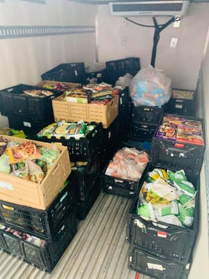 Over 3,000 pounds of food were rescued by La Soupe on Sunday after Trader Joe's at Crestview Hills  had a malfunction with its refrigerating system.