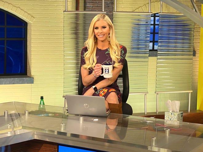 Amy Andrews, morning anchor of Fox 2 Detroit.