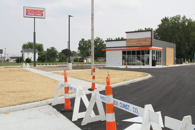 The new Dunkin, at 2251 W.State in Fremont, will be before the end of July.