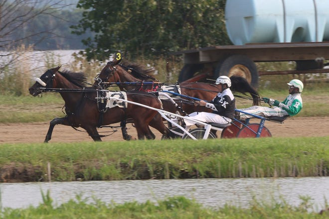 The 57th annual Ottawa County Fair featured harness racing the first two days.